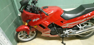 Ninja 250 Candy Persimmon Red (2007)