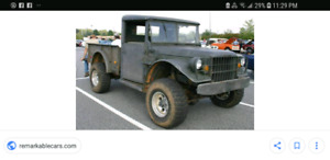 Looking for a Dodge M37