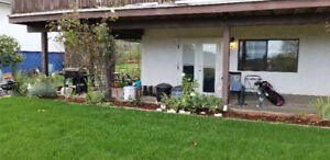 Beautiful ground level one bedroom suite located in sooke.