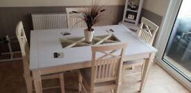 Table , chair & dresser