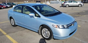 2008 HONDA CIVIC HYBRID-NAVIGATION-CAMÉRA DE RECUL-BLUETOOTH