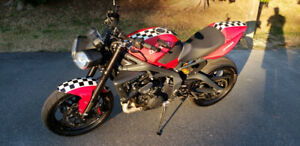 2012 street triple, high end mods: brembo, ohlins, rizoma, etc