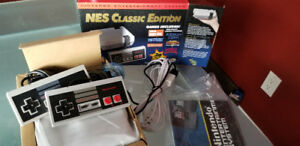 Genuine Nintendo Classic Edition System 2 controllers