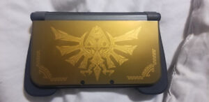 Modded Legend of Zelda 3ds XL with lots of games installed