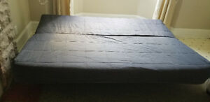 IKEA Futon-Best bed and Couch with 2 pillows