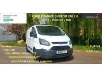 2018 Ford Transit Custom 2.0 TDCi 250 L1 H1 5dr EUR6 51K- 1 OWNER, FSH, 1YR MOT,