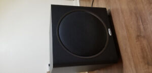 Polk Audio PSW125 12-Inch Powered Subwoofer (Single, Black)