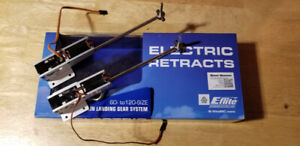 Eflite Electric Retracts and DX8 Transmitter for sale