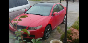 2004 Acura tsx with JDM k24a engine & tranny swap