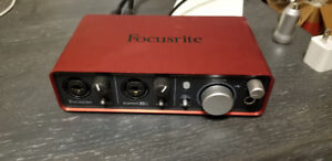 Focusrite Scarlet 2i2 (1st Gen) USB Audio Interface