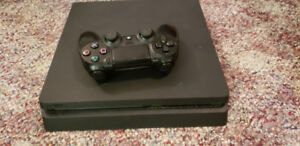 Ps4 Slim all hookups and controller, great  gift!