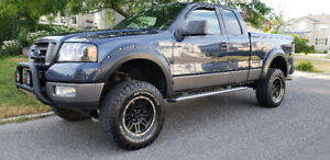 2005 FORD F150 FX4 SUPERCAB 4X4 LIFT KIT