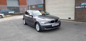 2008 58 BMW 118 2.0TD DIESEL ES ONLY 90,000 MILES. WARRANTED..