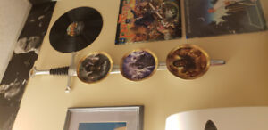 LORD OF THE RINGS :  BRADFORD EXCHANGE 3  COLLECTOR MOVIE PLATES