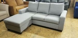 Brand New Reversible Condo Size SECTIONAL - MADE IN CANADA