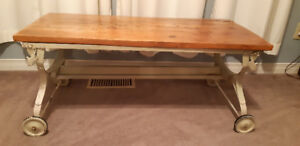 antique bench/table
