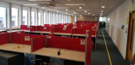 Beech executive office desks