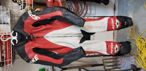 Spyke Perforated Leather Racing Suit