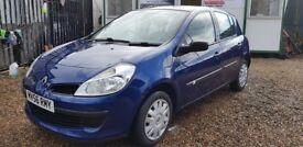 Renault Clio Expression 1.2 16V (blue) 2006