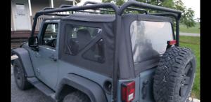 Jeep Wrangler 2porte rack smittybilt de toit