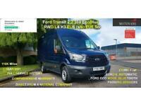 2017 Ford Transit 2.0 350 EcoBlue RWD L4 H3 EU6 5dr- 1 OWNER, FSH, 1YR MOT, WARR