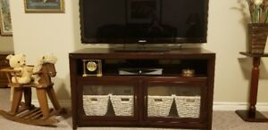 REDUCED IN PRICE, ENTERTAINMENT UNIT AND STAND FOR TV