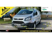 2017 Ford Transit Custom 2.0 TDCi 130ps Low Roof Van PANEL VAN Diesel Manual
