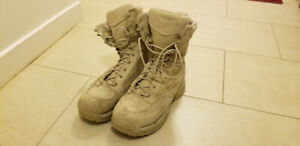 "Danner TFX Desert Rough-Out Military Boots, 8"" Tan"