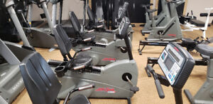 LIFECYCLE 9500HR - RECUMBENT BIKE FOR SALE