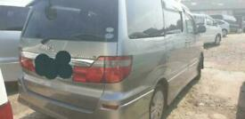 image for TOYOTA ALPHARD BREAKING 2004, 2.4, PETROL, AUTO ALL PARTS AVAILABLE
