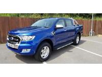 2016 Ford RANGER LIMITED 4X4 DCB TDCI Manual PICK UP