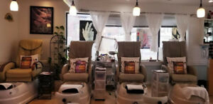 Nail salon for sale