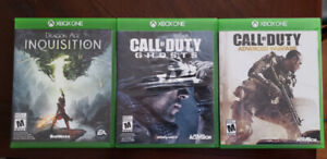 3 jeux pour Xbox One- Call of duty - inquisition