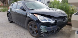 Hyundai Veloster 2012 1.6L 6-speed Manual PART OUT