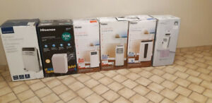 (5 LEFT)-PORTABLE AIR CONDITIONERS-(5 SLIGHTLY USE)(1 BRAND NEW)