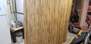 6 bamboo partitions