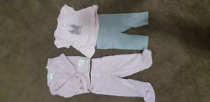 NB - 3 month baby girl lot!