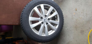 16inch Kumho Solus all-weather tires with OEM Honda rims