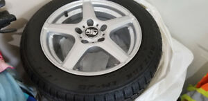 New snow tire and wheel package