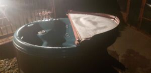 Spa jacuzzi rond pompe reconditionner
