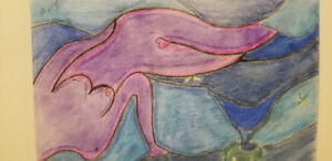 Femme nues abstraite