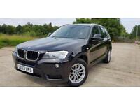 2013 BMW X3 SUV F25 2.0 20d SE Auto XDrive 1 OWNER FROM NEW