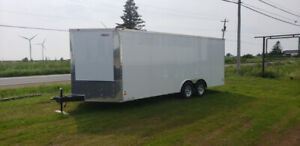 NEW 2020 FREEDOM ENCLOSED CARGO TRAILER 24FT​