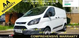 2018 Ford Transit Custom 2.0 290 L1 H1, 1 OWNER, FSH , 37K, EBFU 6 - 1 OWNER, FS