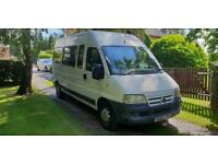 2002 CITROEN RELAY LWB High Roof Disabled access bus - ideal CAMPER.