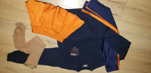 Ensemble/kit/uniforme patin CPA Blainville 6-8 ans fille