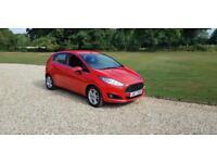2014 (14) Ford Fiesta 1.25 Zetec 5 door 11,000 MILES IMMACULATE CONDITION