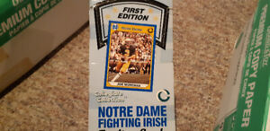 1ST EDITION NOTRE DAME FIGHTING IRISH FOOTBALL CARDS