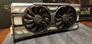EVGA 1070 FTW Gaming ~Mint Condition~ OEM WARRANTY MSRP $600+TAX
