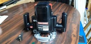 CRAFTSMAN 9 AMP 1/4 INCH ROUTER IN LIKE NEW CONDITION